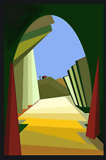 ACEO -END OF THE TUNNEL - LIMITED EDITION PRINT 50-R.BOZZETTI--13-335