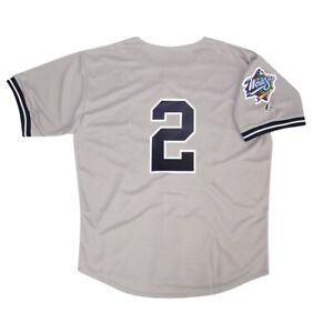 Derek Jeter 1999 New York Yankees World Series Road Jersey Men's (M-2XL)