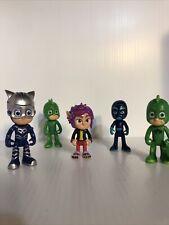 Pj Masks Figure Lot Gekko Catboy Night Ninja Rip Wolfy Kids Pj Mask