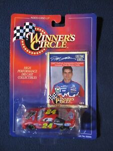 1997 NASCAR Winner's Circle  Jeff Gordon #24 Dupont / Jurassic Park Chevy