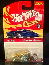 HOT WHEELS 2005 CLASSICS SERIES 1 #23 SCORCHIN' SCOOTER SPFL DK GOLD
