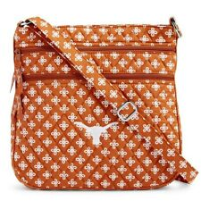 Vera Bradley Triple Zip Hipster Crossbody Bag -  University Of Texas Longhorns