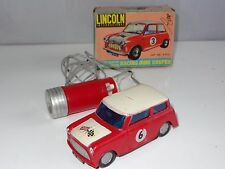 Lincoln International Hong Kong Plastic MINI COOPER RALLY - remote