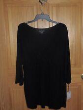 774d63c5e71f3 Nursing Top XL Wrap Blouse a Glow Maternity Black Shirt X Large Kohls 16