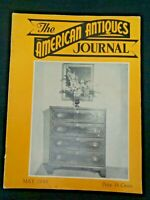 1949 AMERICAN ANTIQUES Journal Lithoplanes Burr & Chittenden Clockmakers Clocks