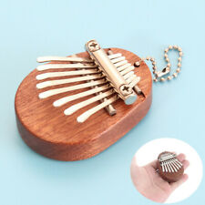 More details for mini kalimba 8 keys thumb piano great sound finger keyboard musical instrument