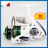 12+1BB Mulinello Pesca a Fondo Bolognese Feeder Spinning Mare Trota Carpa