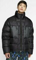Nike ACG Down Fill Jacket Sportswear Black Gore Tex Mens Sz Large New w/o tags