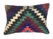 Turkish Moroccan Kilim Cushion Cover, Kelim Pillow 60x40cm 64115