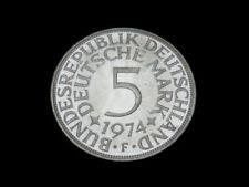 Unzirkulierte Bankwesen Münzen der BRD Mark-Währung