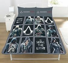 Assassin's Creed Legacy Set Housse de couette Double Literie Enfants - 2 en 1