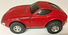 TONKA 280Z FAIRLADYZ STEEL TOY CAR,RARE 280Z STICKERS!!!JAPAN,RED,DATSUN,NISSAN