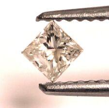 loose princess diamond .24ct SI3 H 3.41x3.30mm vintage estate antique