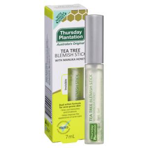 Thursday Plantation Tea Tree Blemish Stick 7mL Gel With Manuka Honey Invisible