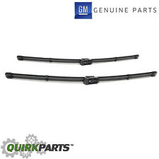 OEM NEW Window Wiper Arm Blade Front Right & Left Set Acadia Enclave Traverse
