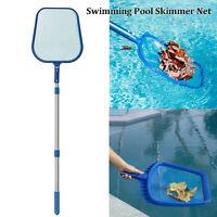 Professional Leaf Rake Mesh Frame Net Skimmer Cleaner Swimming Pool Spa Tools