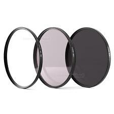 Set UV + POL-Filter + ND8 passend für Nikon D3500 D5600 und AF-P DX 18-55mm Obj.