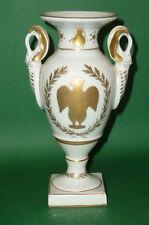 Vecchio Limoges Vaso a Coppa napoleoniche Aquila Ape Napoleon Porcellana