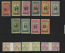 TUNIS 1925, 16 stamps LH* (Mi. Set 110-19, 70€) (20)
