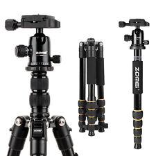 ZOMEI Q666 Pro Portable Aluminium Camera Tripod Ball Head Travel for DSLR Camera