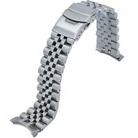 316L Solid Jubilee Stainless Steel Watch Band Made for Seiko 5 Sports SRPD