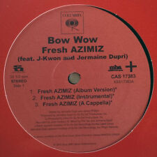 "Bow Wow ‎– Fresh Azimiz - Columbia CAS 17383 VINYL PROMO 12"" HIP HOP"