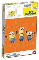Illumination Minions Top Trumps Mini Card Game - New in box!
