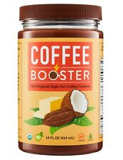 Coffee Booster: The Original High-Fat Coffee Creamer