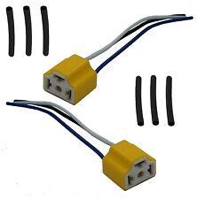2 x Ceramic H4 Connectors high temp repair kit head light lamp bulb Mini Morris