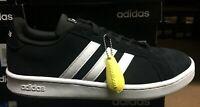 Adidas Grand Court  Men's Tennis/skateboarding Sneakers Black/White F36414  SS