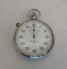 Vintage Swiss Made Mechanical Wind Up Sperina Stop Watch Working