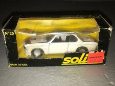 SOLIDO 1/43 Diecast Car - BMW 30 CSL #25 NIB MINT / CHOICE