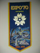 Rare Vintage Expo 70 Osaka Japan Commemorative Pennant
