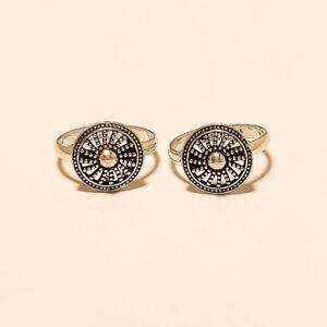Handmade Bohemian Design Toe Ring 925 Sterling Silver Women Vintage Fine Jewelry