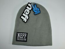 NEFF Daily Beanie  GREY Daily Beanie & Original/Fold - Brand New NF00001 - NWT
