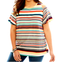 Women/'s 3X 30//32 Fit 4X Sage Green Cold Shoulder Sweater Knit Top Bust 64 Len 31