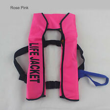 75fe9d273d0 UK Adult Automatic Manual Inflatable Life Jacket 150N Sailing Boating Aid  Vest