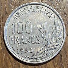 PIECE DE 100 FRANCS COCHET 1955 (658)