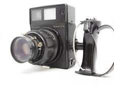 [EXC+++] Mamiya UNIVERSAL Press w/ Sekor P 127mm f/4.7 and Hand Grip from JAPAN