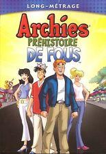 ARCHIE PREHISTOIRE DE FOU (BRAND NEW DVD !!)74 MINUTE MOVIE/FRENCH!!