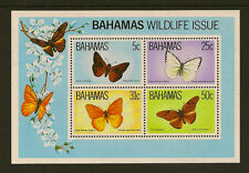 BAHAMAS  : 1983 Butterflies Min Sheet SG MS657 unmounted mint