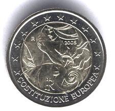 ITALIA 2005 - 2 euro costituzione commem-european (UNC)