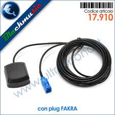 Antenna GPS adesiva universale per navigatori satellitari - Connettore FAKRA