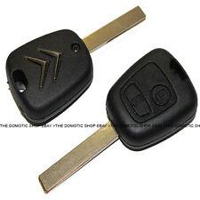 Llave Citroen C1 C2 C3 Carcasa para sustitución | reparación | 2 botones ✅