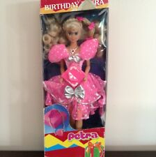 Birthday Petra Doll By Kenner Parker New In Box Great Find Neon Colors