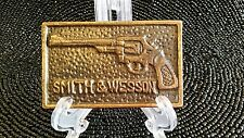 Smith and Wesson Brass Beltbuckle