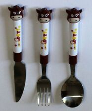 Children Cutlery 2&3 Pieces Set Brand New Stainless Steel & Plastic Kids love