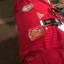 Spain Soccer Large Jersey with Patches