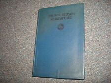 Vintage The New Hudson Shakespeare Book 1908