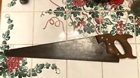 "Vintage 26"" Disston 11-4 ""National Hardware Special"" Hand Saw 8 tpi. Sharpened!"